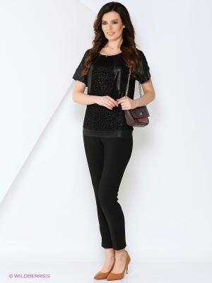 Блуза SVETLANOVA. Цвет: черный