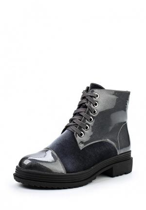Ботинки Bona Dea. Цвет: серый