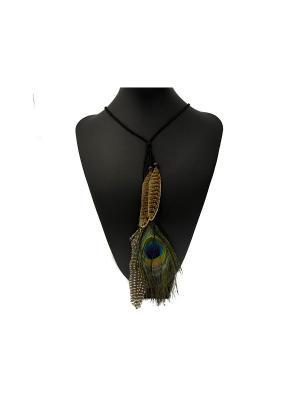 Колье Miss Bijou. Цвет: черный,синий,зеленый