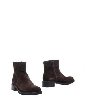 Полусапоги и высокие ботинки CAMPANILE. Цвет: темно-коричневый