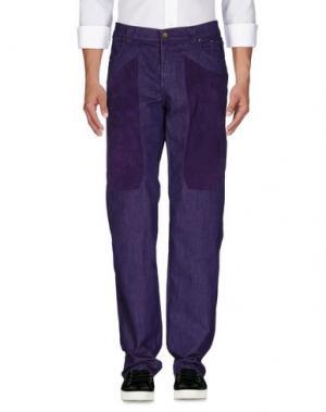 Джинсовые брюки JECKERSON. Цвет: розовато-лиловый