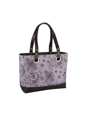 Сумка-термос Raya 24 Can  Tote-Purple Flower Thermos. Цвет: фиолетовый