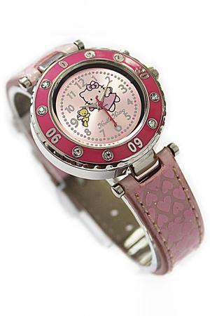 Часы наручные Hello Kitty. Цвет: розовый