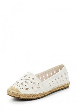 Эспадрильи Sweet Shoes. Цвет: белый