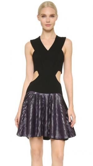 Платье без рукавов Jay Ahr. Цвет: фиолетовый