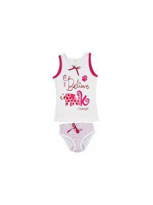 Комплект одежды РОССИЙСКИЙ ТРИКОТАЖ. Цвет: розовый
