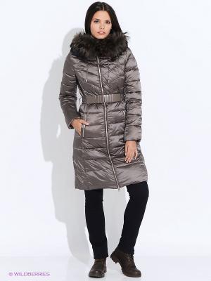 Пальто SELA. Цвет: темно-серый