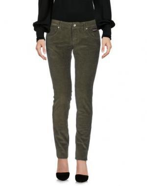 Повседневные брюки NICHOL JUDD. Цвет: зеленый-милитари