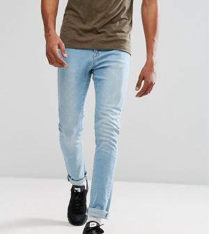 Brooklyn Supply Co. Светлые джинсы скинни Co. Цвет: синий