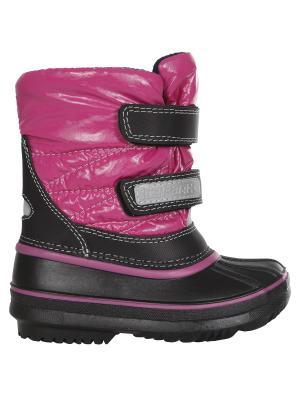 Дутики Icepeak. Цвет: розовый
