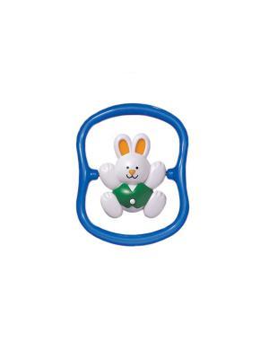 Погремушка Кролик Tolo. Цвет: синий