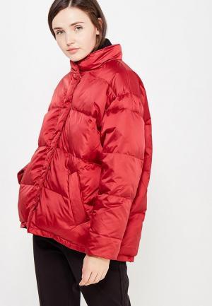 Куртка Mango. Цвет: бордовый