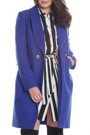Пальто Bellissima. Цвет: синий