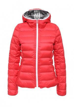 Куртка утепленная adidas Performance. Цвет: красный