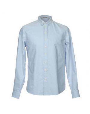 Pубашка QUATRE SAISONS. Цвет: небесно-голубой