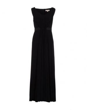 Длинное платье MICHAEL KORS. Цвет: черный