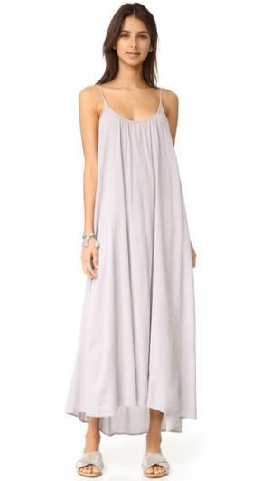 Макси-платье Tulum 9seed. Цвет: гравий