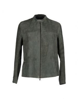 Куртка COMPAGNIA DELLE PELLI. Цвет: зеленый