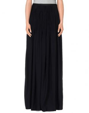 Длинная юбка MARTA MARTINO. Цвет: черный