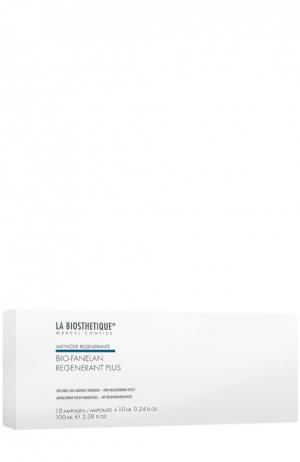 Интенсивная сыворотка против выпадения волос, 10 ампул La Biosthetique. Цвет: бесцветный