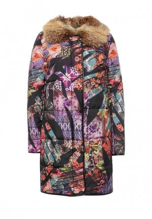 Куртка утепленная Grafinia. Цвет: разноцветный