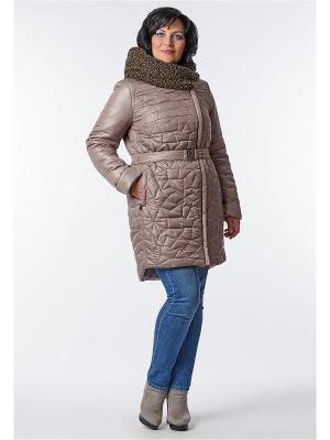 Пальто D`imma. Цвет: светло-коричневый