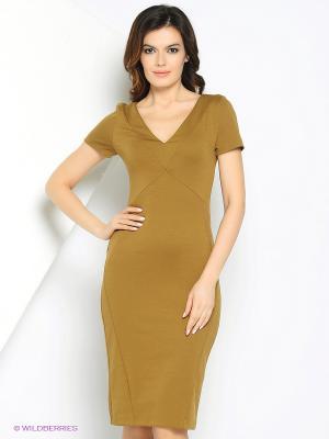 Платье МадаМ Т. Цвет: горчичный