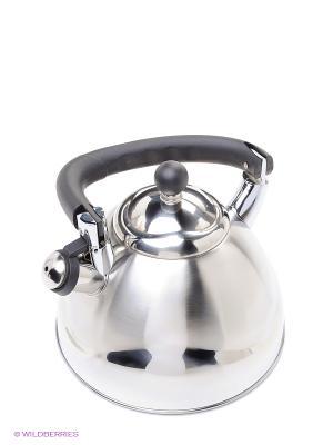 Чайник с автоочисткой 3,5 л Peterhof. Цвет: серебристый, черный