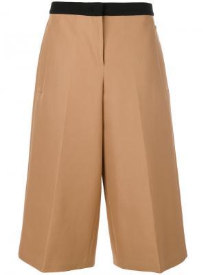 Укороченные брюки Nº21. Цвет: коричневый