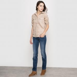 Прямые джинсы  Kaporal 5. Цвет: темно-синий линялый