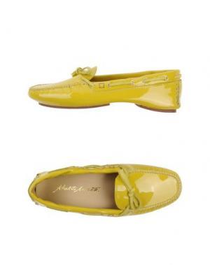 Мокасины ALBERTO MORETTI. Цвет: желтый