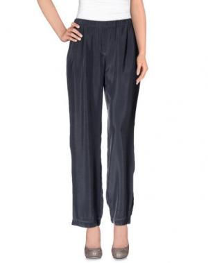 Повседневные брюки ES'GIVIEN. Цвет: свинцово-серый