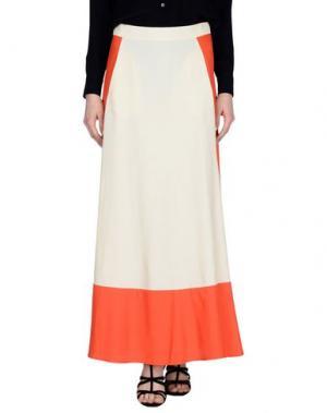 Длинная юбка SKAIST TAYLOR. Цвет: светло-желтый
