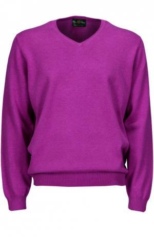 Вязаный пуловер Alan Paine. Цвет: фуксия