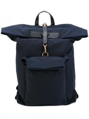 Объемный рюкзак Mismo. Цвет: синий
