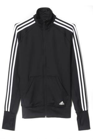 Олимпийка adidas. Цвет: черный, белый