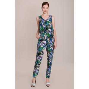 Комбинезон с брюками MIGLE+ME. Цвет: наб. рисунок синий