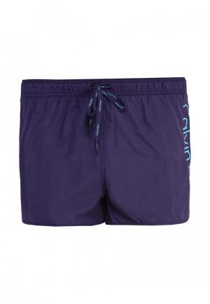 Шорты для плавания Calvin Klein Underwear. Цвет: фиолетовый