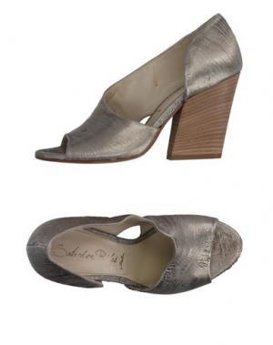 Туфли SALVADOR RIBES. Цвет: серый