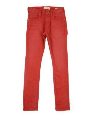 Джинсовые брюки SCOTCH & SHRUNK. Цвет: красно-коричневый