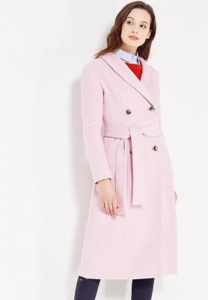 Пальто Demurya Collection. Цвет: розовый