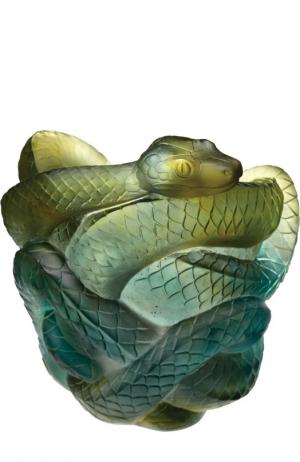 Ваза Snake Daum. Цвет: бесцветный