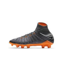 Футбольные бутсы для игры на твердом грунте дошкольников/школьников  Jr. Hypervenom Phantom III Elite Dynamic Fit FG Nike. Цвет: серый