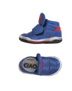 Низкие кеды и кроссовки CIAO. Цвет: синий