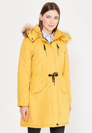 Парка Baon. Цвет: желтый