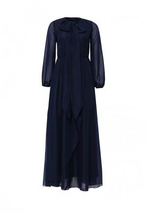 Платье Chic. Цвет: синий