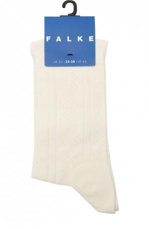 Носки с рельефным узором Falke. Цвет: бежевый