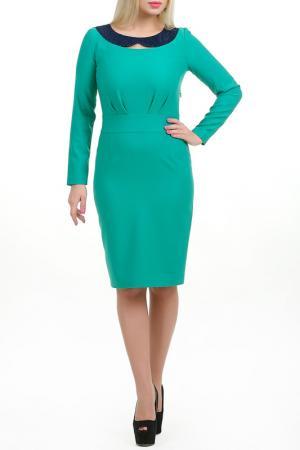Платье Клер LESYA. Цвет: зеленый