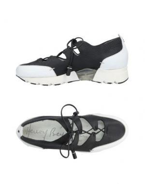 Низкие кеды и кроссовки HENRY BEGUELIN. Цвет: черный