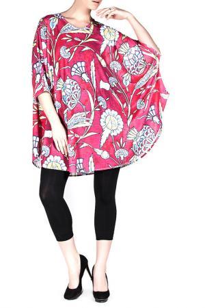Блуза Exline. Цвет: мультицвет
